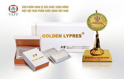 "Honor Hall of [Golden Lypres®] • Achieving ""Gold Product for Public Health Award"" Successively"